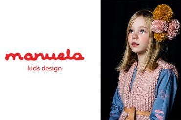 Manuela Kid's Design Fall17 Lookbook #manuelakidsdesign #manuela #kidsfashion #lookbook #girlsclothing #girlswear #juniorstyle #ontheblog #juniorstylelondon #knitwear #handknits #pompoms #fall17 #aw17