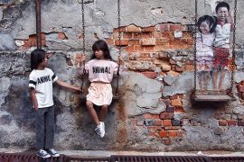 Editorial Perfectly Imperfect featuring Fish and Kids by Anelia Alaudin #fishandkids #aneliaalaudin #kidswear #juniorstyle #kidsfashioneditorial #penang #malaysia #streetart #juniorstylelondon #kidsfashionblog #ontheblog #bandybutton