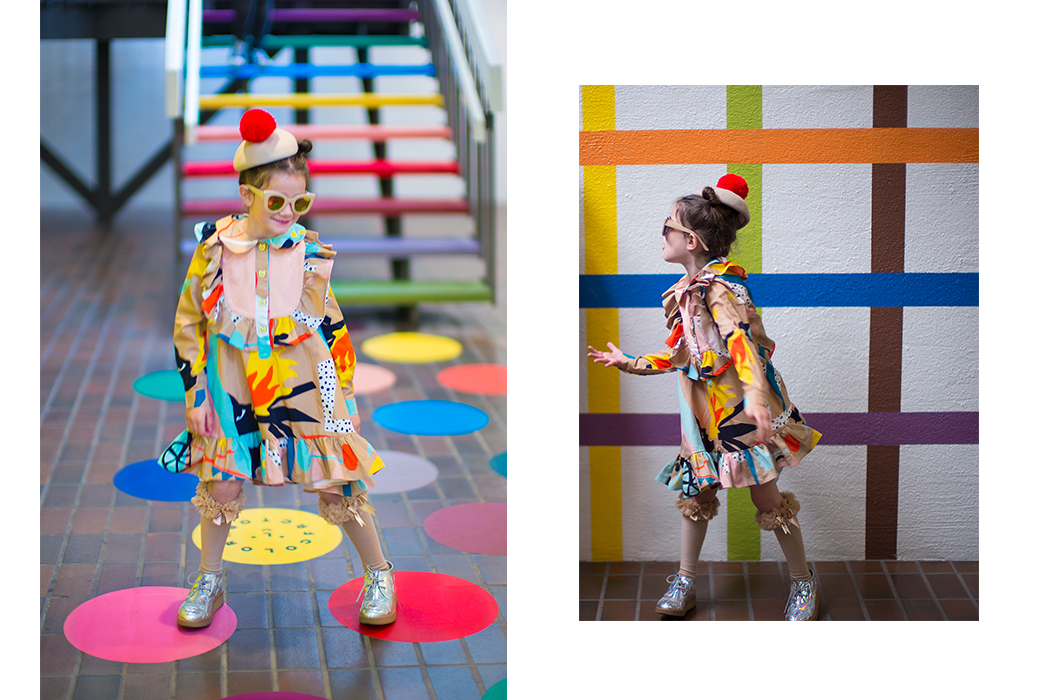 Junior Style London Kids Fashion Blog - Little Miss Sophie's Closet Fashion Pop Art Editorial featuring #Raspberryplum #kidsfashion #AW17 #kidsfashionphotography #juniorstylelondon #juniorstyle #juniorfashion #lolkidsarmonk #littlemisssophine #lilttleragsandriches #photography
