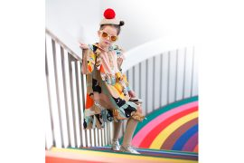 Junior Style London Kids Fashion Blog - Little Miss Sophie's Closet Fashion Pop Art Editorial featuring #Raspberryplum #kidsfashion #AW17 #kidsfashionphotography #juniorstylelondon #juniorstyle #juniorfashion #lolkidsarmonk #littlemisssophie #lilttleragsandriches #photography