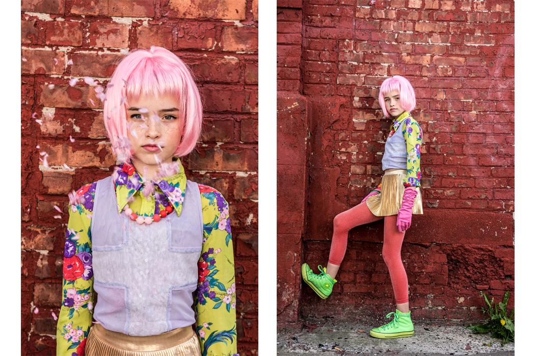 Junior Style - Take A Walk On The Wild Side Editorial by Josephine Carlier as seen on Hooligans Magazine Blog #kidsfashion #takeawalkonthewildside #editorial #fashioneditorial #josephinecarlier