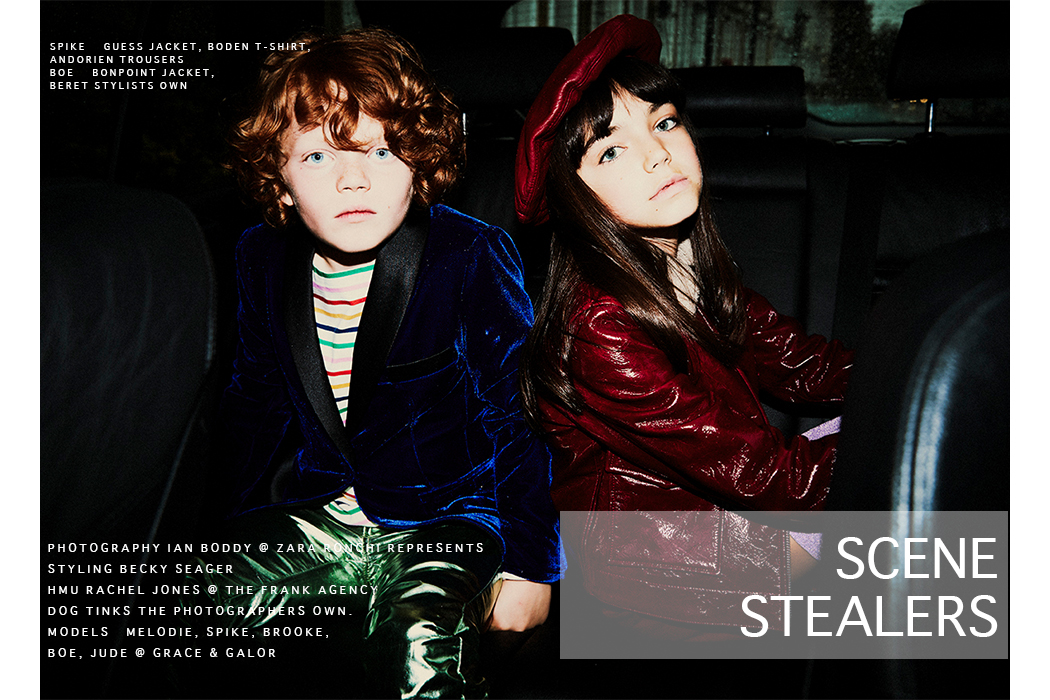 Lights, Camera, Action - The Scene Stealers an Editorial by Ian Boddy and Becky Seager #kidsfashion #juniorstyle #ianboddy #kidsfashionphotography #editorial #fashionphotography #designerkidsfashion #designerfashion #thesmallgatsby #devonsdrawer #vivetta #kidsfashionblog #fashioneditorial #kidsfashioneditorial #luxuryfashion #scenestealers