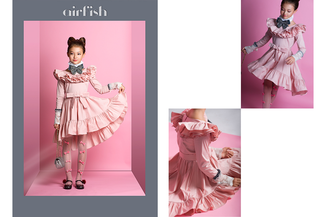 Brand Focus Airfish Dolls the new collection from Airfish shot by Eliza Logan from Hooligans Magazine #elizalogan #styledbyv #airfishdolls #koreanbrand #juniorstyle #kidsfashionblog #kidsfashionphotography #girlsdresses #partywear #minifashion #ministyle #juniorfashion #luxuryfashion #fallcollection #aw17 #fall17