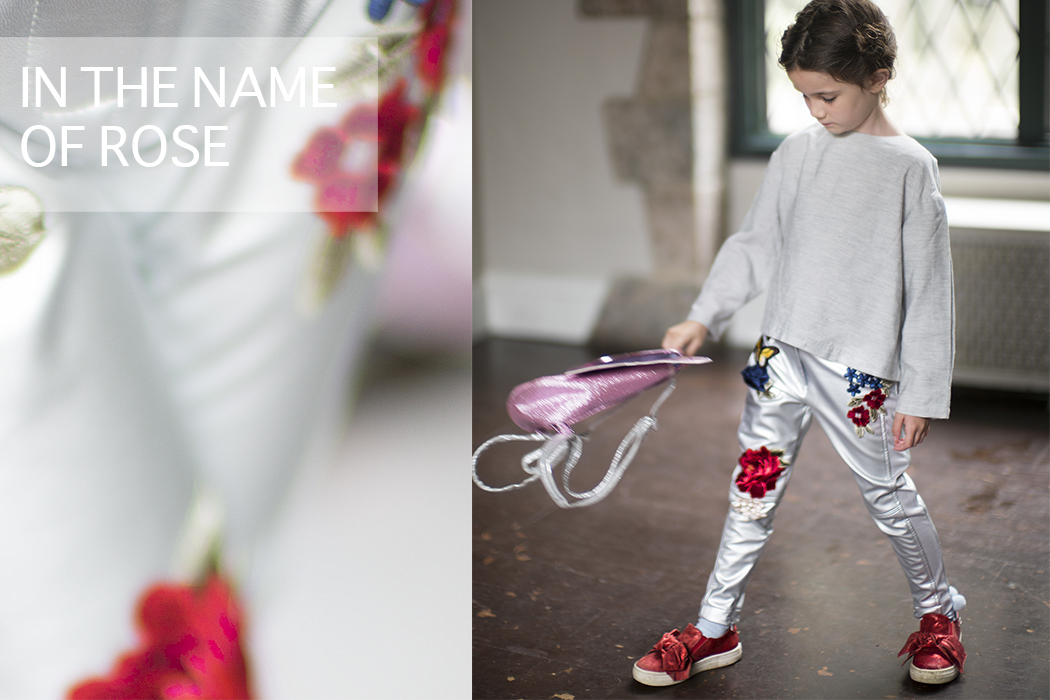 In The Name Of The Rose an guest post by Julia Rozenfeld featuring Little Miss Sophie in Monnalisa #monnalisa #littlemisssophie #rose #girlswear #Italianbrand #italianfashion #designer #luxury #fall17 #aw17 #girlsdresses #juniorstyle #minifashion #kidswear