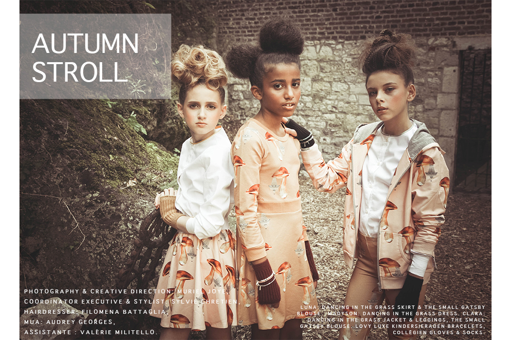 Autumn Stroll kids fashion editorial by Muriel Joye #murieljoye #kidsfashionblog #autumnstyle #autumnfashion #editorial #kidswear #juniorstyle