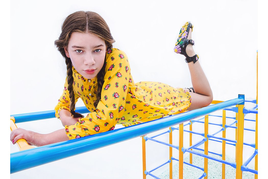 School Daze featuring model Brookelin #brookelin #tweenmodel #teenmodel #designerfashion #kidsfashion #juniorstyle #fendikids #fendi #kidsfashionphotography #editorial #fashioneditorial #designerclothing #juniorstyle #fashioneditorial