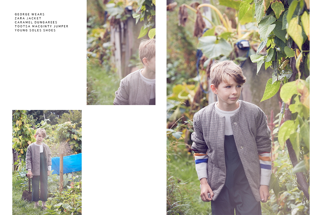 Last of The Summer Wine an editorial by Ros Bolger and Yvadney Davis #kidswear #kidsfashioneditorial #rosbolger #yvadneydavis #kidsfashion #bobochoses