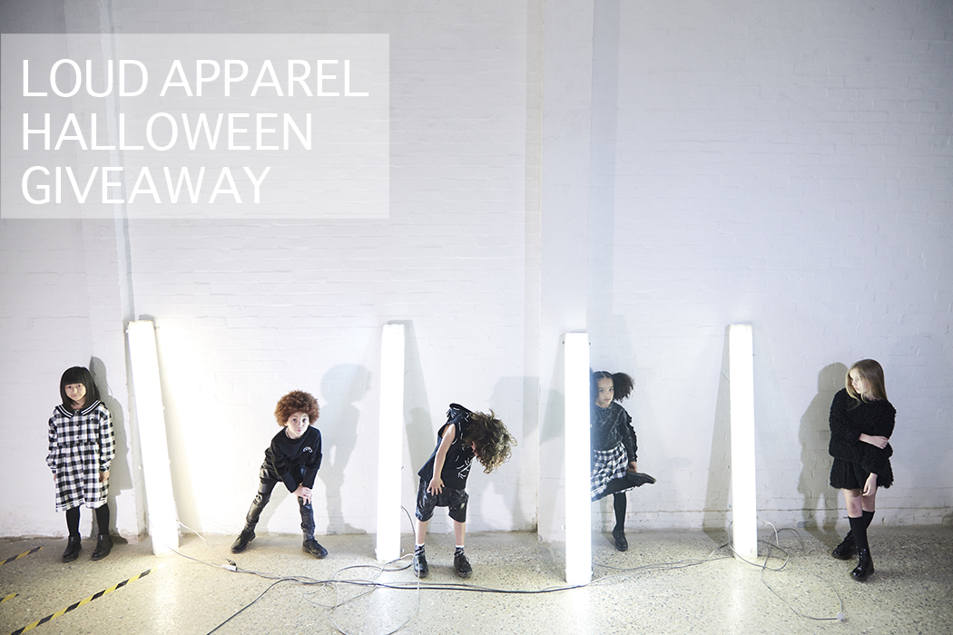 Loud Apparel Giveaway hosted by #juniorstyle #giveaway #competition #monochrome #minimalstyle #unisex #coolkidsclothing #kidswear #kidsfashion #miistyle