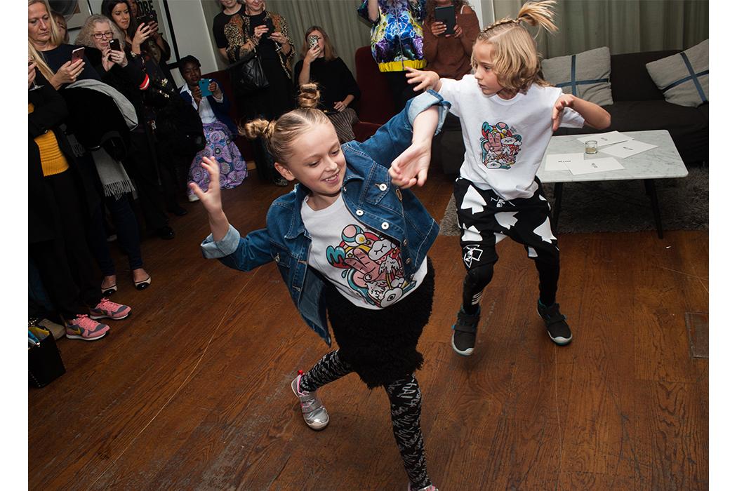 Alegre Media SS18 Press Event #pressevent #katehill #alegremedia #ss18 #juniorstyle #kidswear #loudapparel #hellavagirl #plae #kidsfootwear #molo