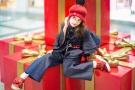 Little Miss Sophie Anticipating Christmas #kidswear #fendi #designerkidsfashion #ministyle #littleragstoriches #lolkidsarmonk #littlemisssophie #jrstylekids #luxuryfashion #kidsphotography