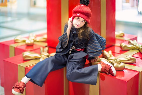 Little Miss Sophie Anticipating Christmas #kidswear #fendi #designerkidsfashion #ministyle #littleragstoriches #lolkidsarmonk #littlemisssophie #jrstylekids #luxuryfashion #kidsphotography
