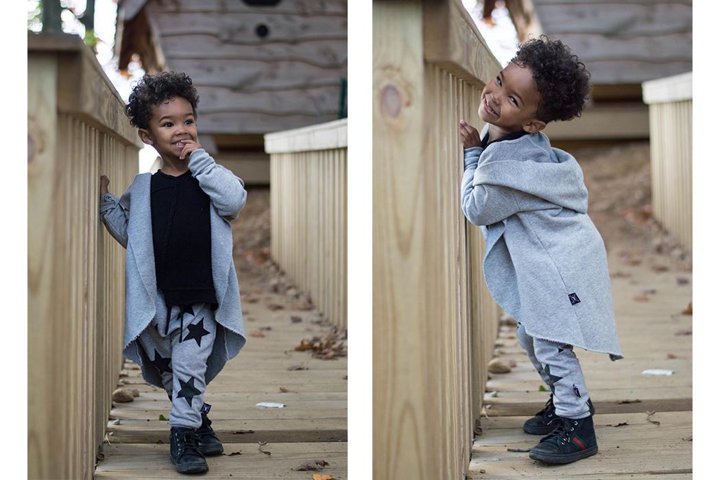 Paxton Beau at the Farm, from City to Country in Nununu - Halloween fun, pumpkins. #kidswear #nununu #unisex #boyswear #juniorstyle #paxtonbeau