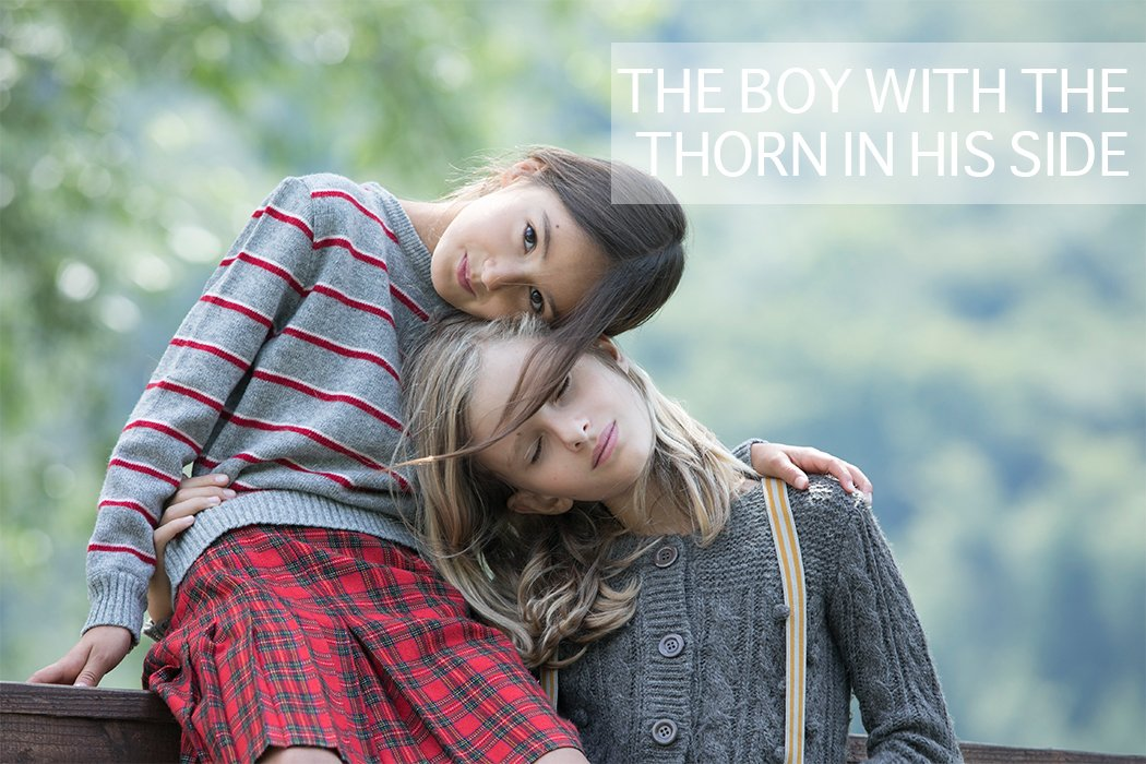 The Boy With The Thorn In His Side By Annarella Caruso