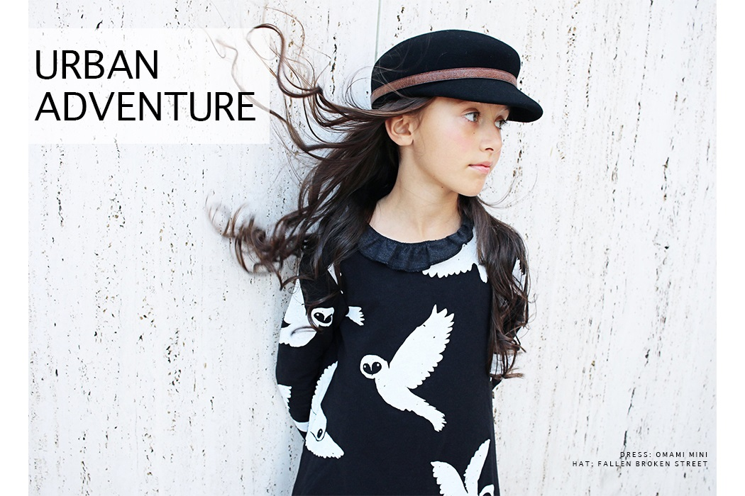 Urban Adventure by Gina Giampa Grimm featuring Omami Mini #kidswear #omamimini #fallenbrokenstreet #juniorstyle #ministyle