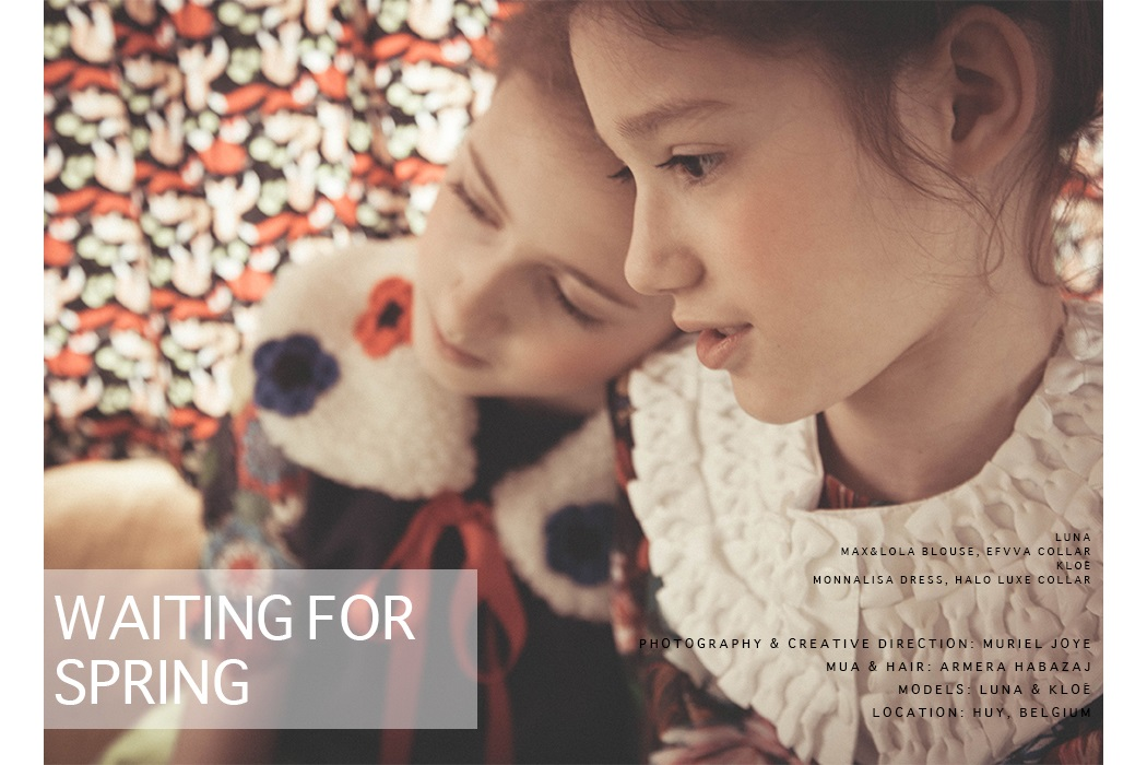 Editorial: Waiting For Spring by Muriel Joye