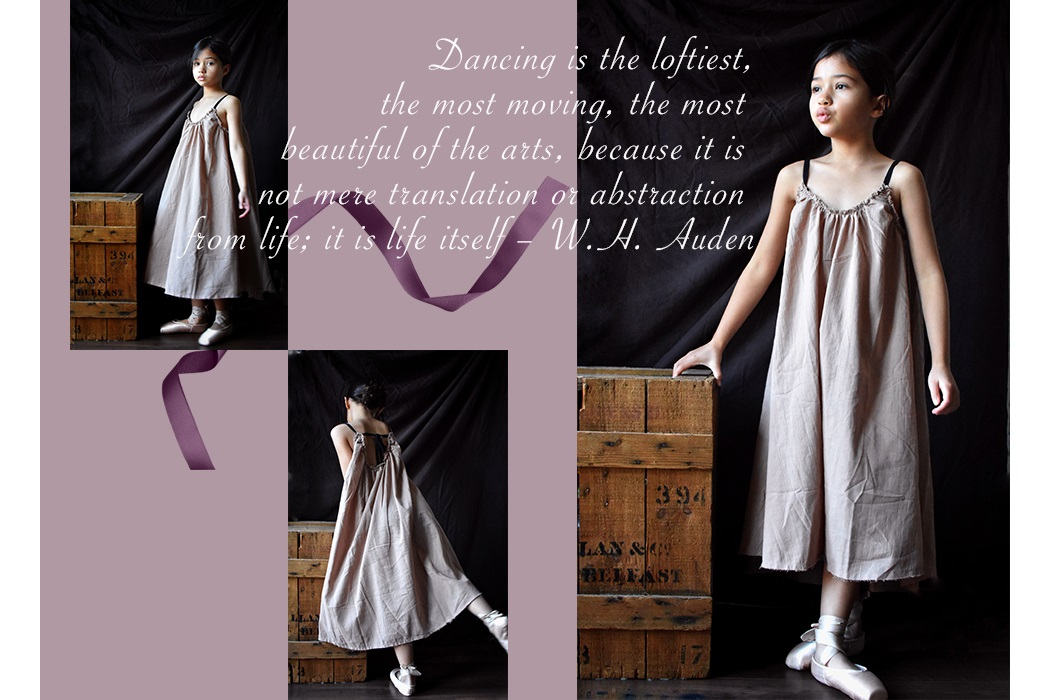 Ballerina an Editorial featuring Little Creative Factory by Anelia Alaudin #littlecreativefactory #ballerina #pointeshoes #ballet #balletshoes #girlswear