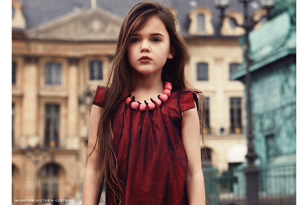 From Paris With Love an editorial by Emma Wright Photography first seen on Little Revolution Magazine #emmawright #fashionphotography #kidswear #infantiumvicotira #ethicalkidswear #kidsphotography #editorial #juniorstyle #kidseditorial #veganfashion #girlswear #paris