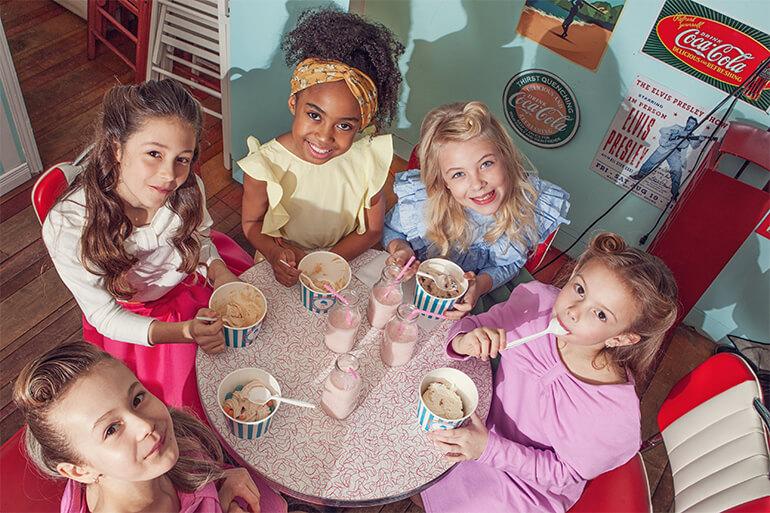Rock n Icecream an editorial by Natalie Sartisson featuring Korean Girls Fashion Label Airfish. #airfish #nataliesartisson #kidsfashion #kidsfashioneditorial #girlsfashion