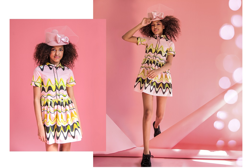 Pink and editorial first seen in the latest issue of Mocha Magazine by Glynis Carpenter and stylist Julia Rozenfeld #littleragsandriches #lolkidsarmonk #pink #glyniscarpenter #editorial #kidsphotography #kidsfashion #mummymoon #paademode