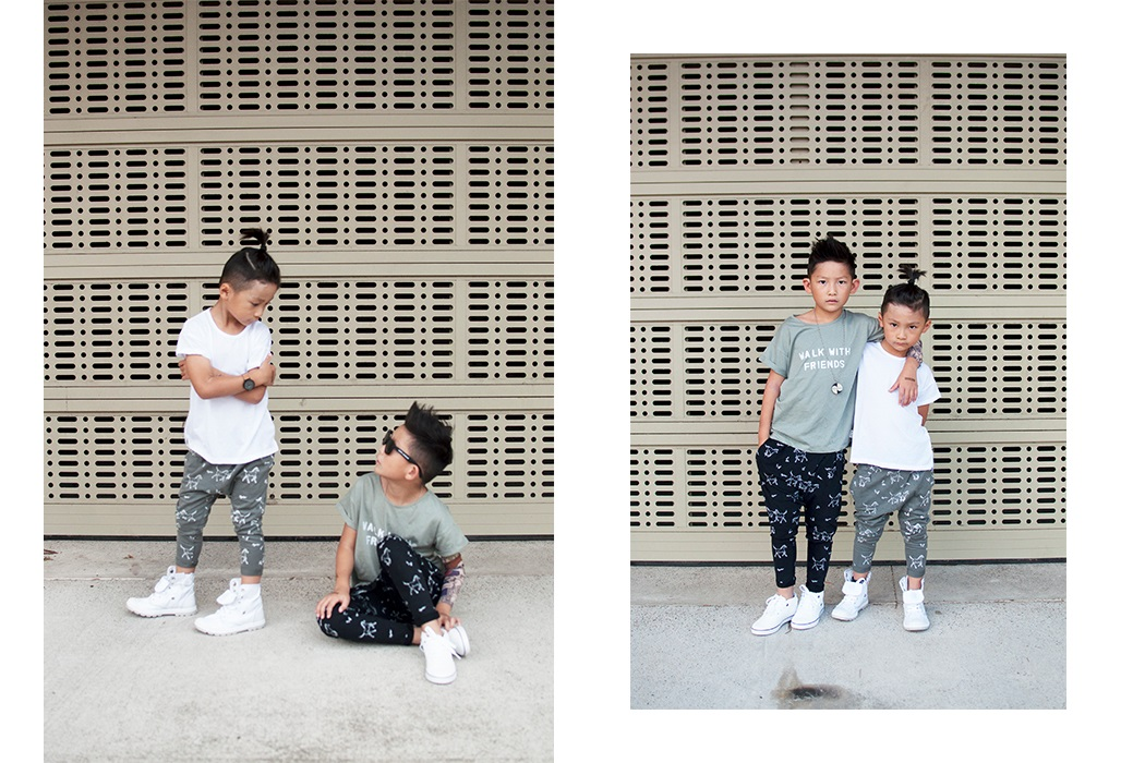 Instagram Influencers Ethan & Evan's Tinono Kids Style