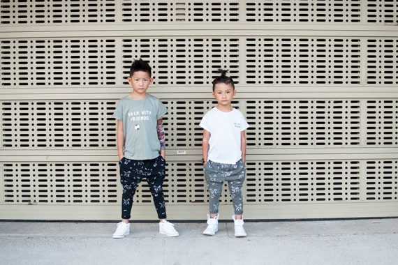 Instagram Influencers Ethan & Evan's Tinono Kids Style