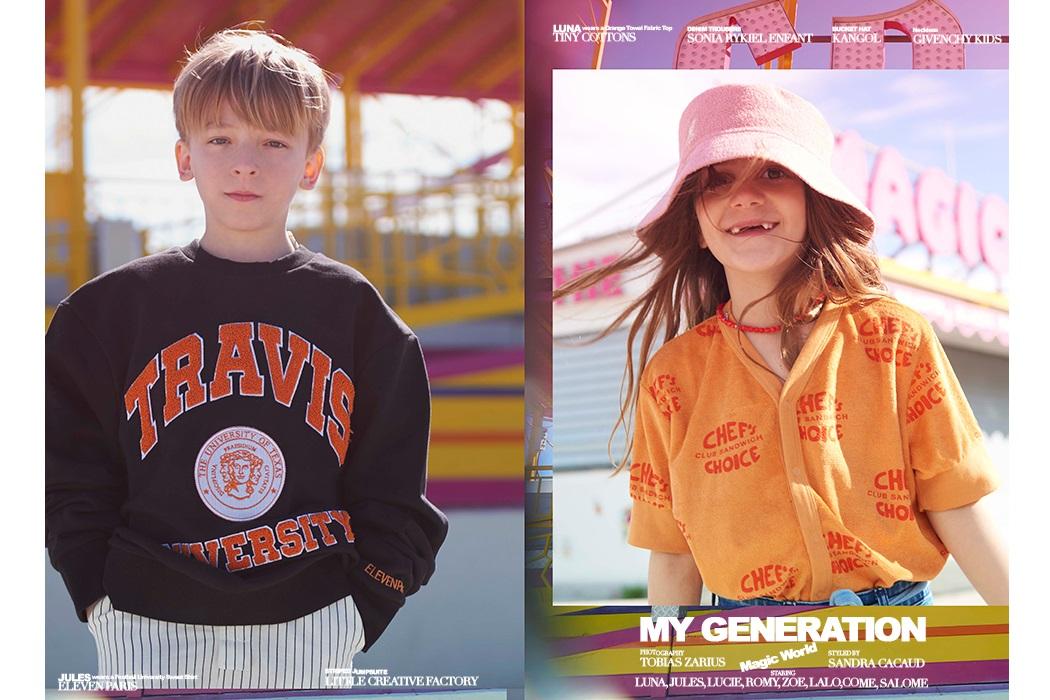 My Generation By Tobais Zarius #kidsfashion #editorial #TobaisZarius #SouthofFrance #FrenchRiviera
