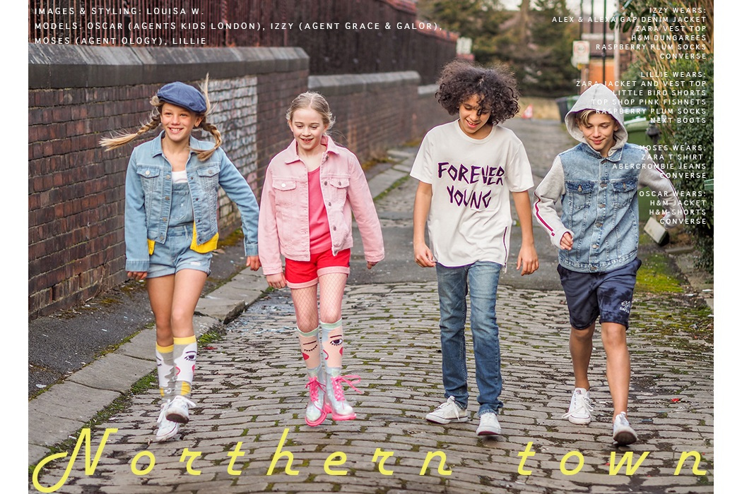 Editorial Northern Town Louisa Weeks Browning #kidswear #editorial #LouisaWeeksBrowning