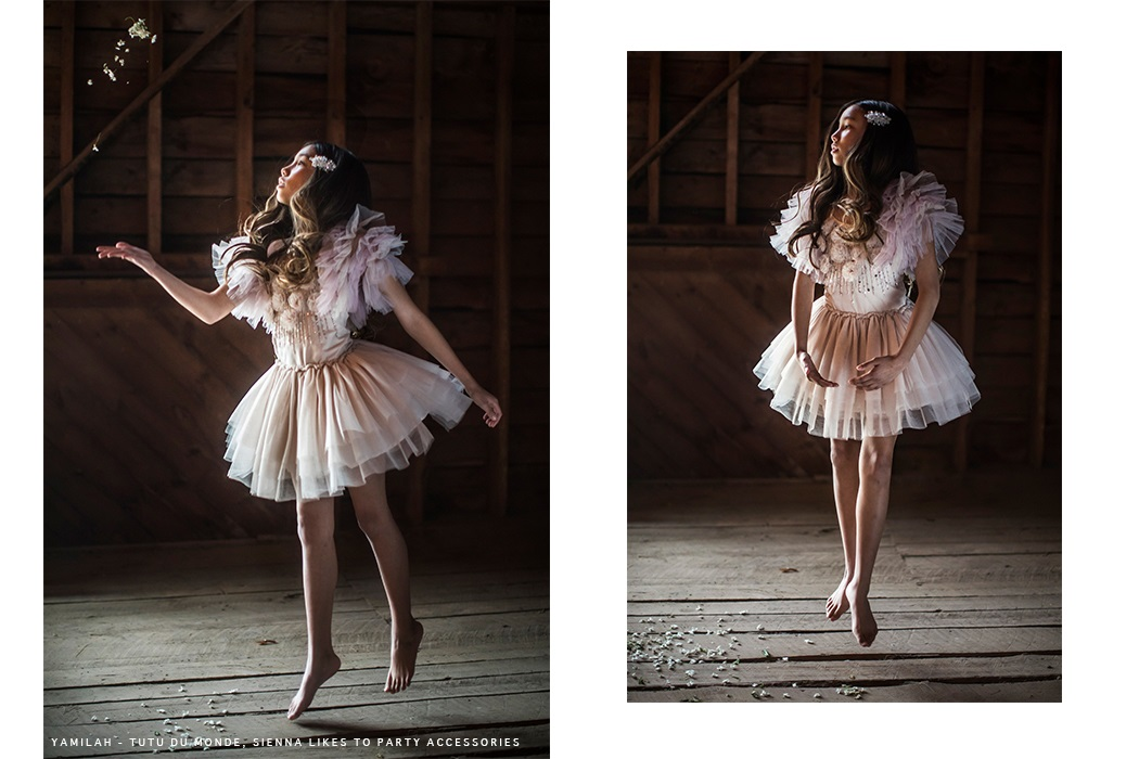 Rustic Elegance Editorial by Barbara Peacock featuring Tutu du Monde #tutudumonde #barbarapeacock