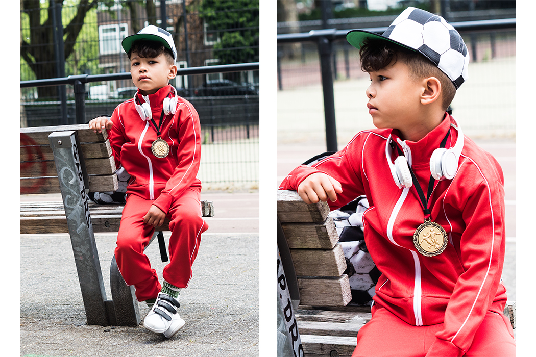 Football Frenzy World Cup Here I Come featuring contributor and Instagram influencer Bodhen Mesrits and Molo Danish Kidswear label #boysstyle #boyswear #kidswear #juniorstyle #instagraminfluencer #molo #football #sportswear