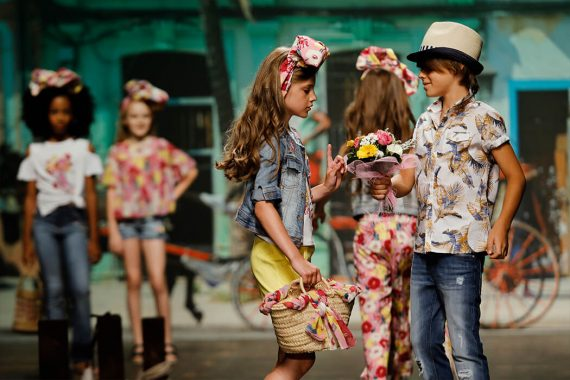 Children's fashion from Spain at Pitti Bimbo SS19