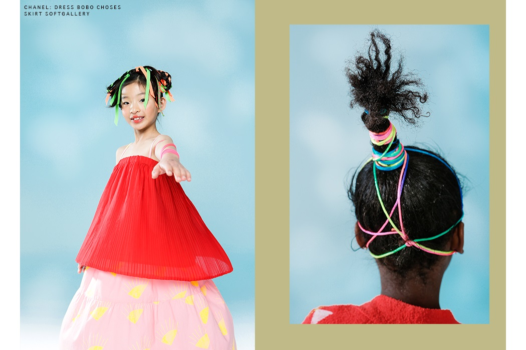 Editorial: Colour Clash By Sussane Dittrich