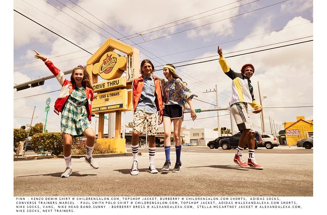 Awkward World: Gluttony By Photographer Ian Boddy #ianboddy #fashioneditorial#awkwardsworld #kidswear #fashionmagazine