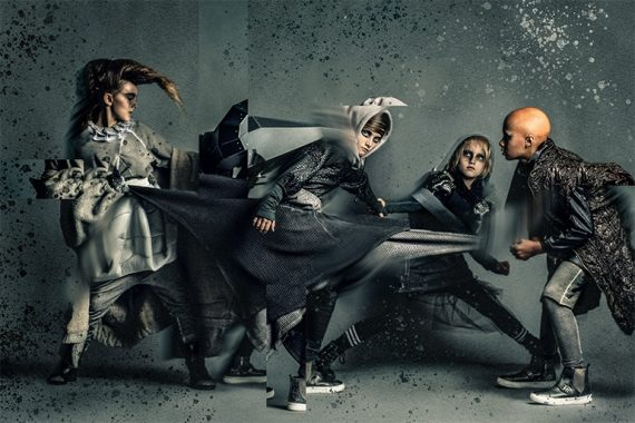hooligans editorial rhino by photographer Eliza Logan