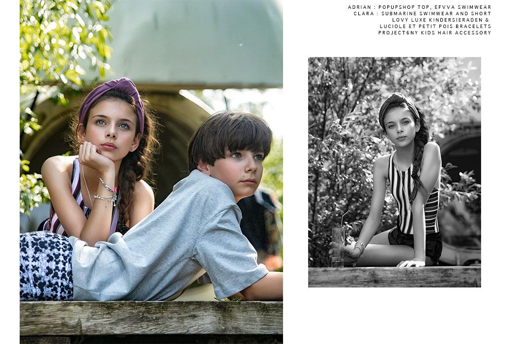 Editorial Dreamers By Photographer Olga Filenko #kidswear #kidsphotography #kidseditorial #fashionphotography #olgafilenko