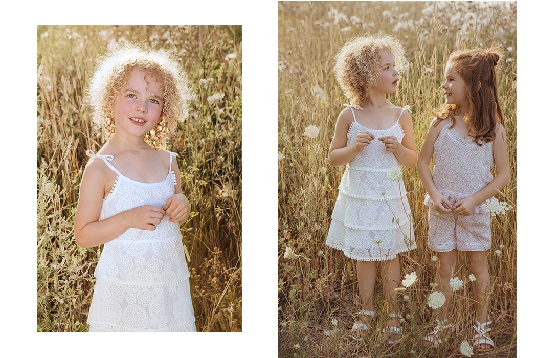 Editorial Wild Flowers By Natalie Sartisson #nataliesartisson #editorial #wildflowers #imonimokids #imoimo #kidsfashion