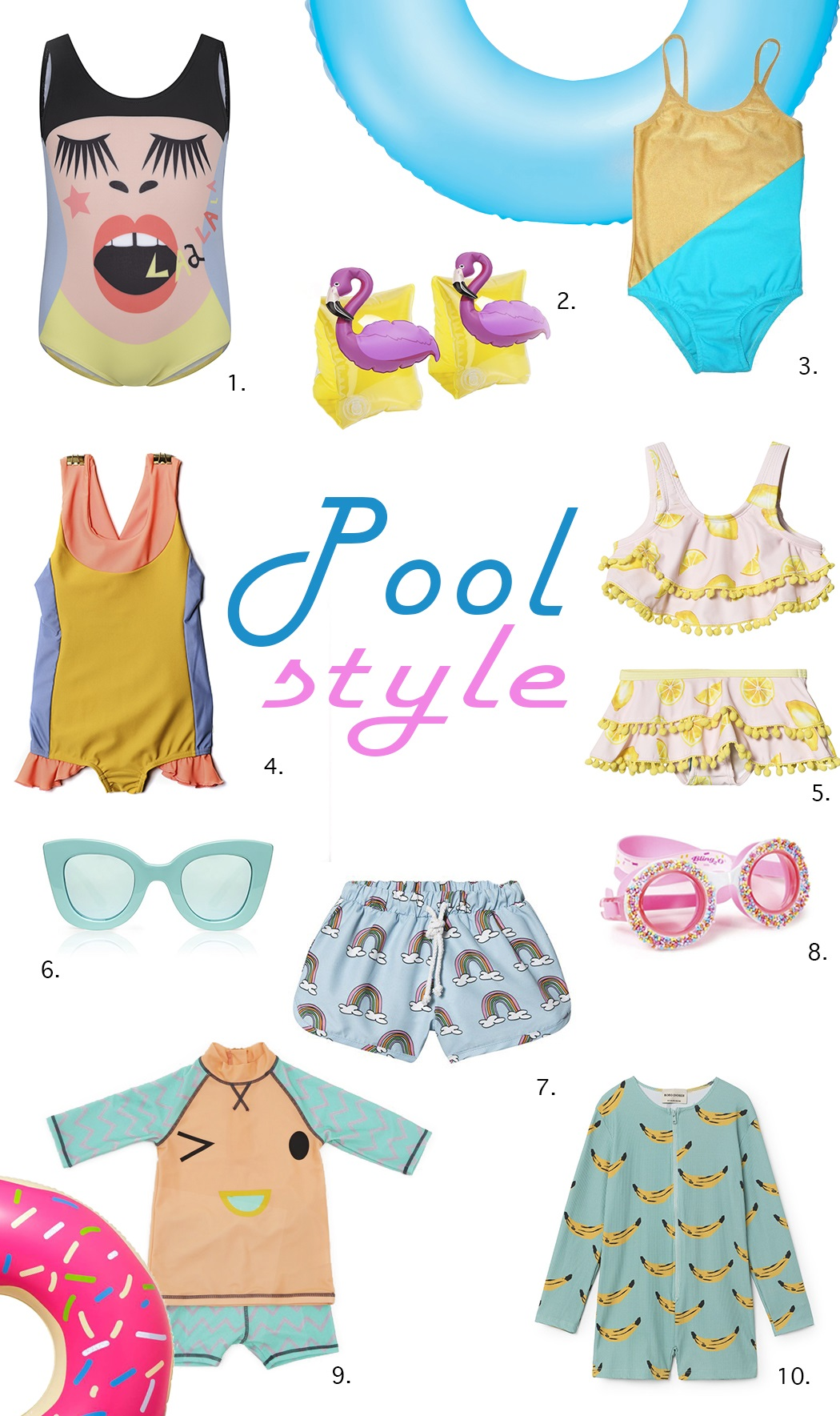 Trend Edit: Pool Style by Yvadney Davis