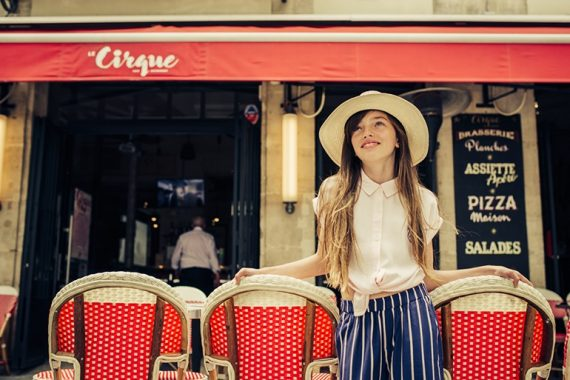 Editorial: Bonjour Paris By Evgenia Karica #evgeniakarica #kidswear #girlswear #kidseditorial