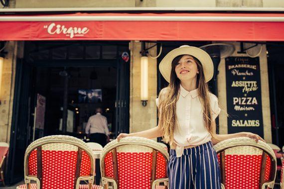 Editorial: Bonjour Paris By Evgenia Karica #evgeniakarica #kidswear #girlswear #kidseditorial