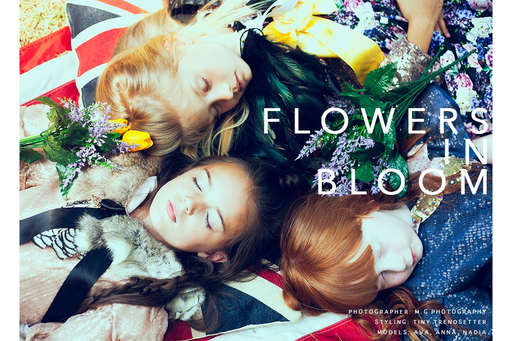 Editorial: Flowers In Bloom By M.G Photography