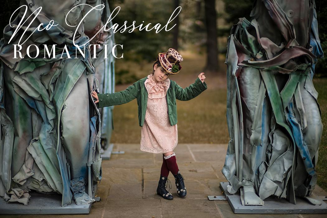 Neoclassical Romantic Featuring Caroline Bosmans