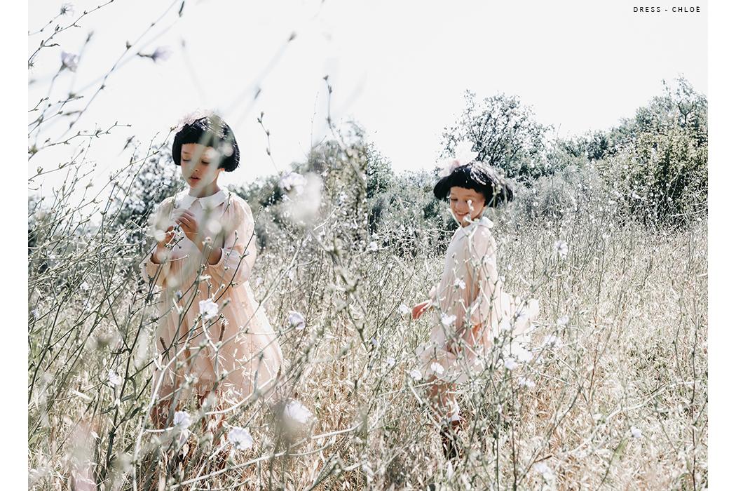 Editorial: Petite Fleur Featuring Anna Pavaga