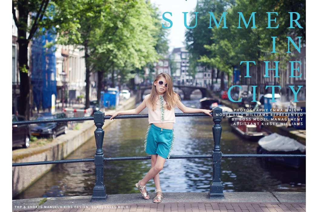 Editorial: Summer In The City By Emma Wright Photography