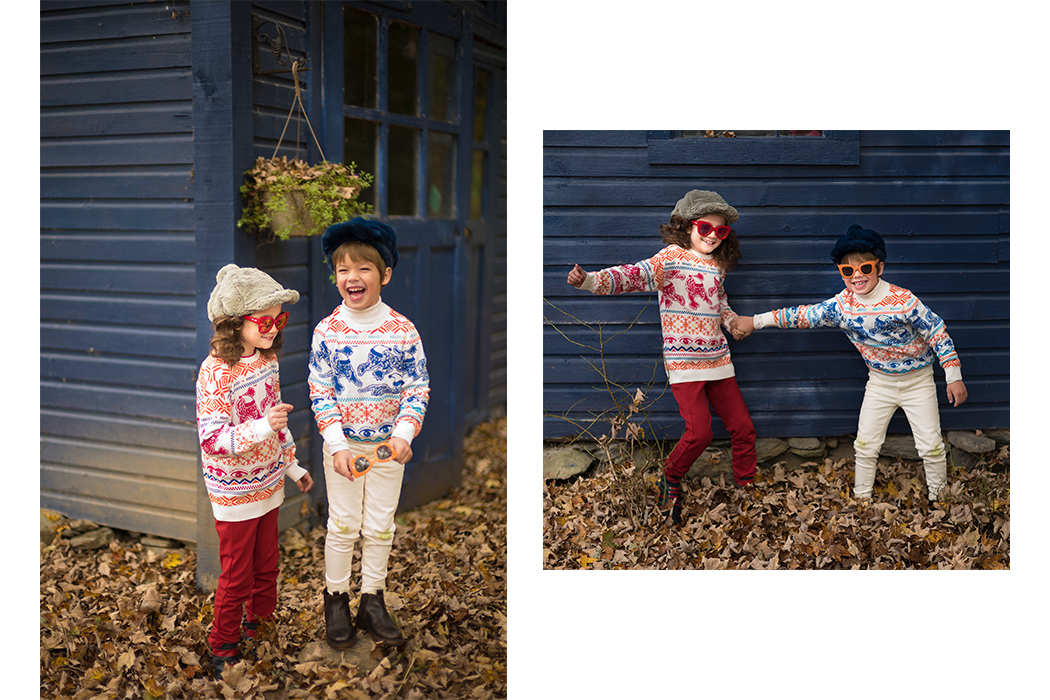 Kenzo: The Ugly Christmas Sweater Weather Little Miss Sophie's Closet