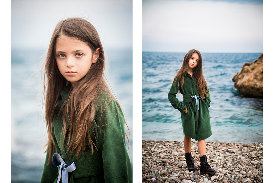 Undine Featuring Instagram Influencer Noyem Pia wearing sustianable kids is ethical