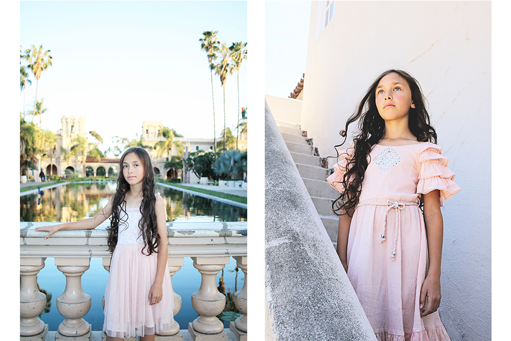 California Boho Luxe By Gina Giampa Grimm contributor post featuring #lulustars #fallenbrokenstreet #hats #milkandsoad #accessories #saltwater #sandals #kidsfashion #bohochic