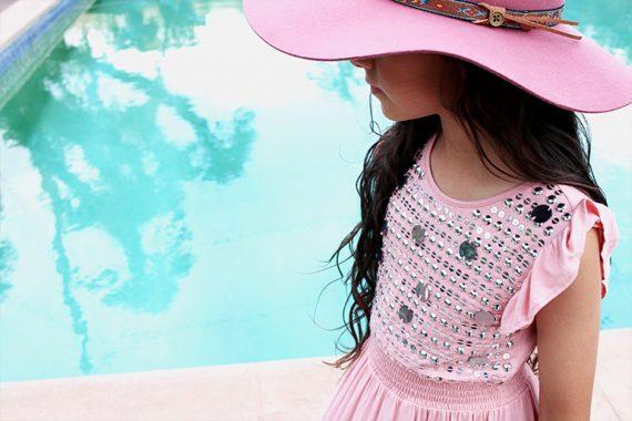 California Boho Luxe By Gina Giampa Grimm contributor post featuring #lulustars #fallenbrokenstreet #hats #milkandsoad #accessories #saltwater #sandals #kidsfashion #bohochic
