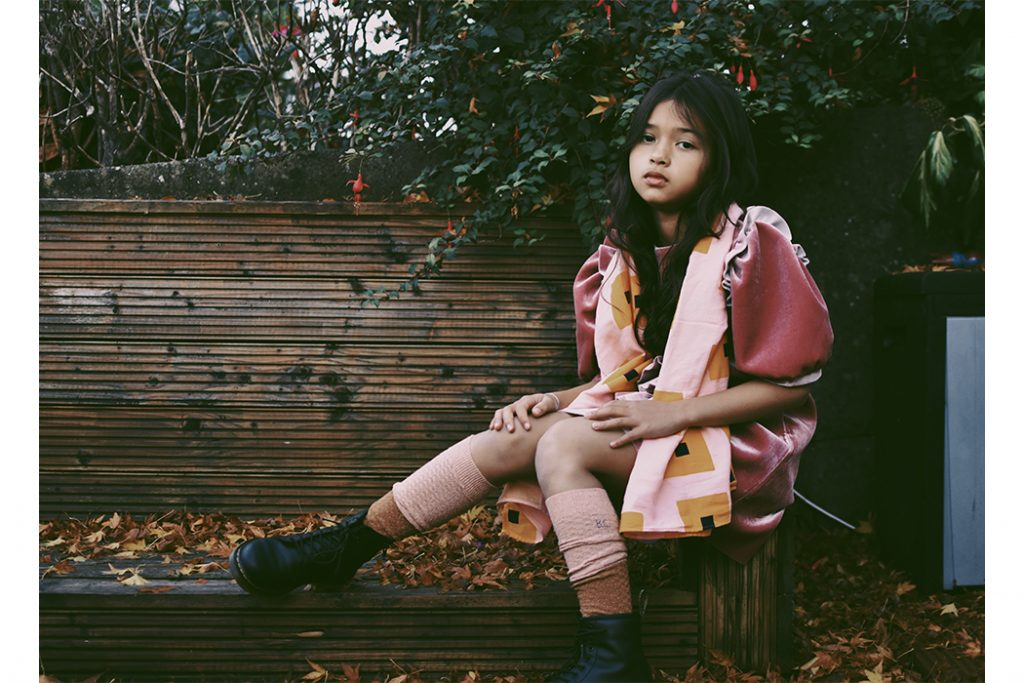 Imoimo Kids End of Autumn #imoimokids #girlsfashion #kidswear #autumn #girlswear #aw18 #velevetdresses