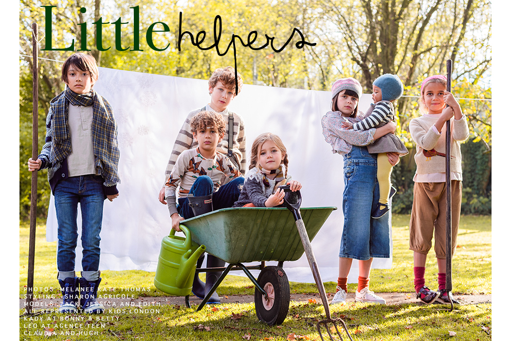 Editorial: Little Helpers by Melanee Kate Thomas