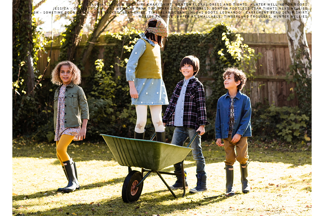 Editorial: Little Helpers by Melanee Kate Thomas #kidseditorial #kidsfashion #melaneekatethomas
