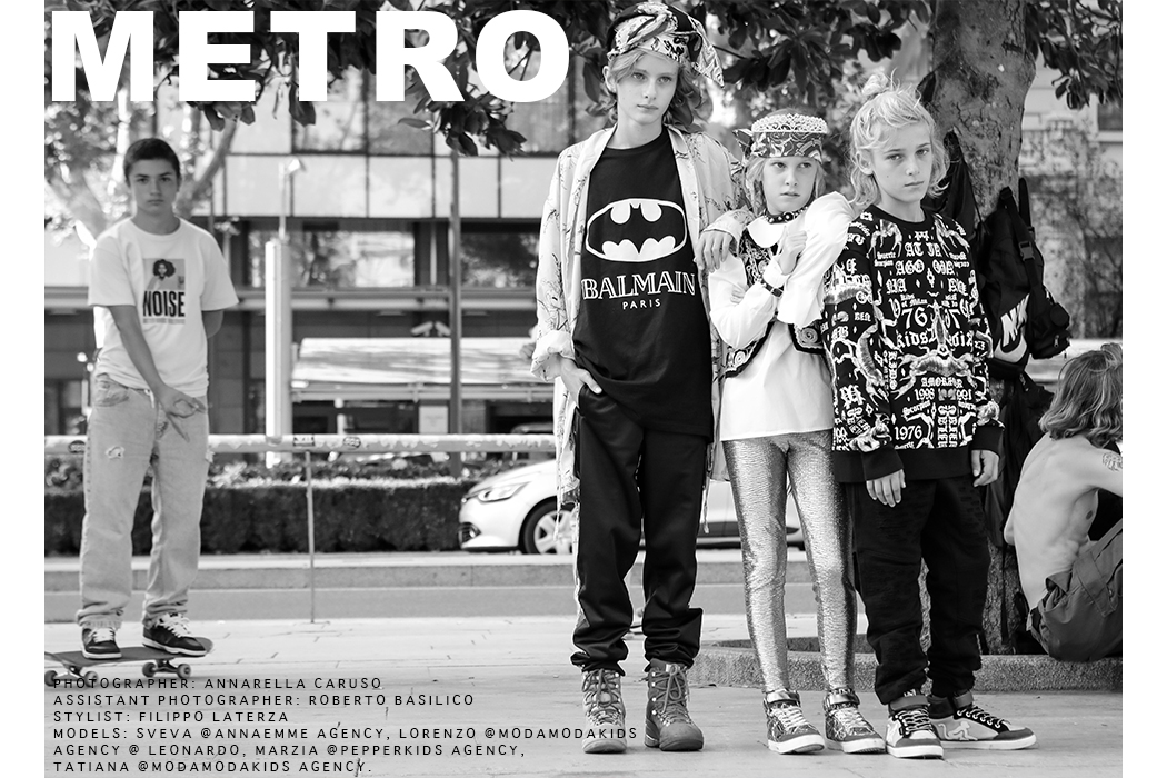 Editorial: Metro By Annarella Caruso